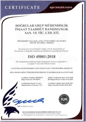DOĞRULAR ISO 45001